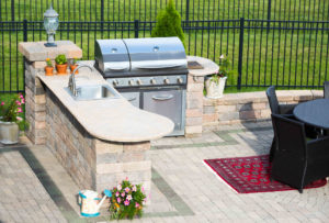 Outdoor Kitchen Winterization Rock Tops Fabrication