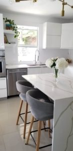 Contemporary Kitchen Countertop Rock Tops Fabrication